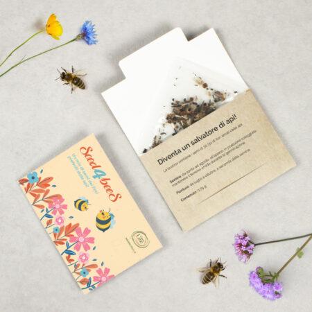 Seed4bees - bustina di semi per Api